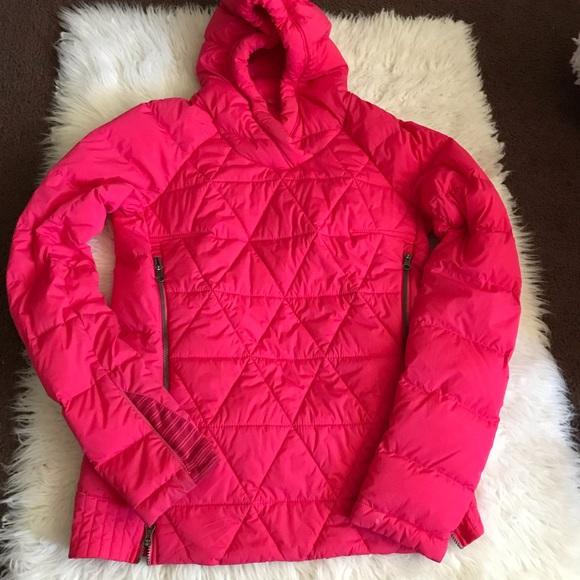 lululemon athletica Jackets & Blazers - Lululemon Fluffed Up Pullover Book Juice